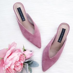 Steven by Steve Madden Ainsley Suede Mules